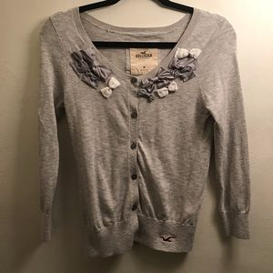 Hollister Bow Tie Sweater